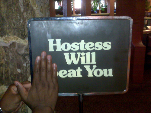 Hostess Will Eat You
