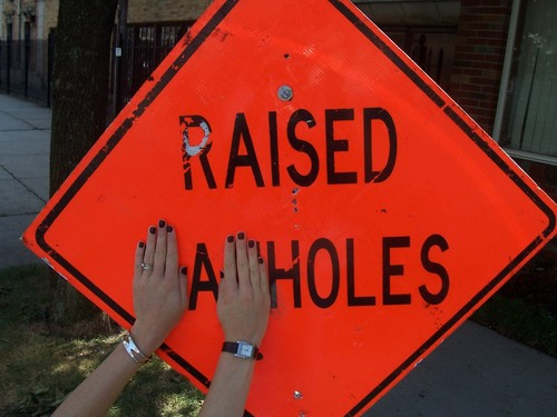 Raised A Holes