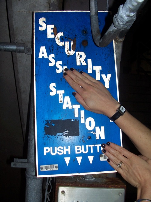 Security Ass Station - Push Butt