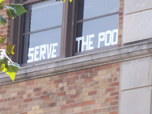 Serve the Poo
