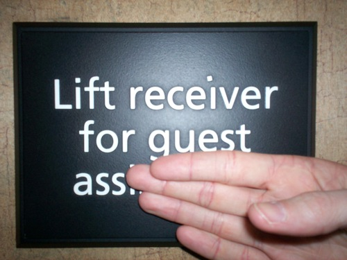 Lift Receiver for Guest Ass