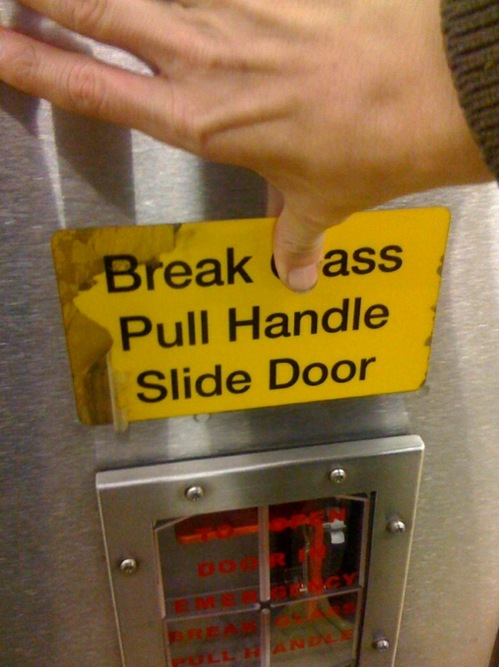 Break Ass Pull Handle