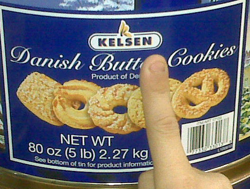 Danish Butt Cookies