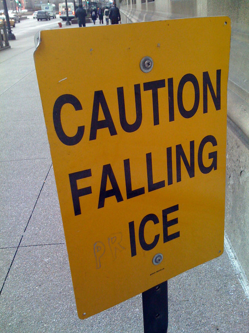 Caution Falling Price