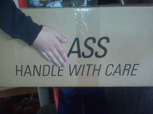 Ass Handle With Care