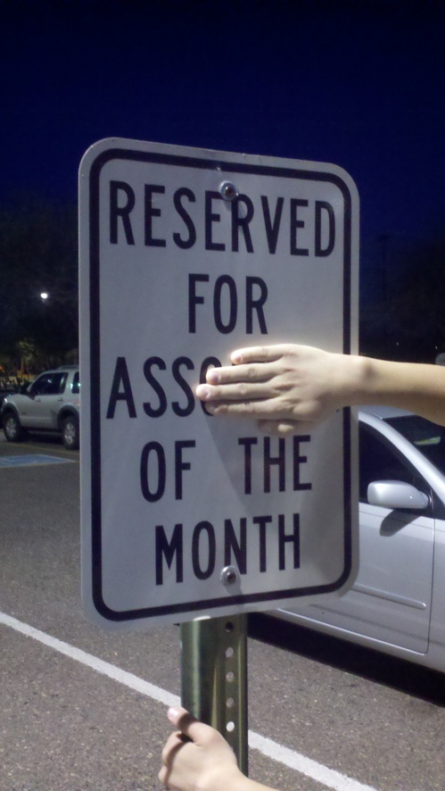 Reserved for Ass of the Month