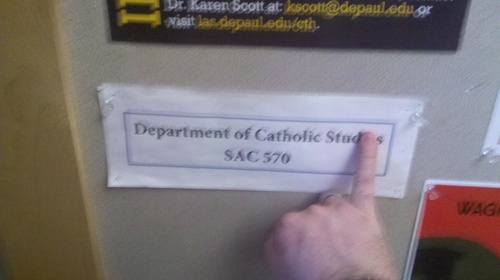 Dept of Catholic Studs