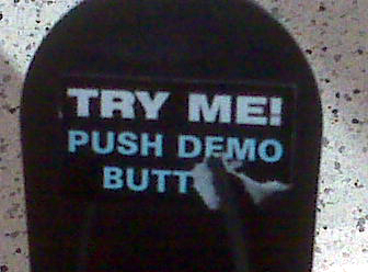 Try Me! Push Demo Butt