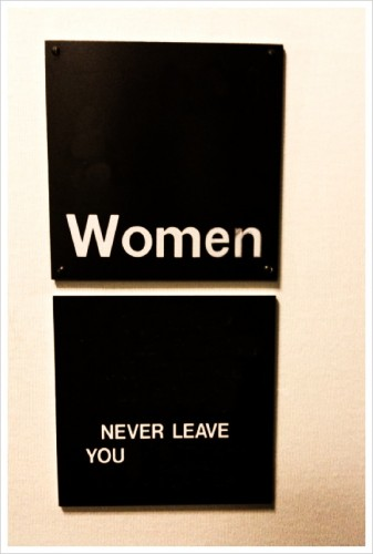 Women Never Leave You
